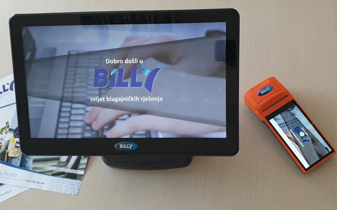 Billy blagajnama služi se lako, a još lakše uz upute i korisničku podršku